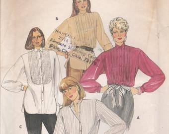 Classic Blouse Pattern Butterick 4127 Size 14 Uncut