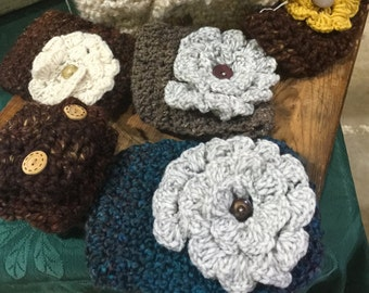 Handmade Crochet Headband Ear Warmers