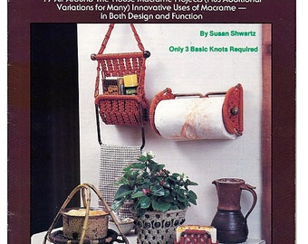 Macrame Innovations 17  Functional Macrame Projects Book Plaid #7474