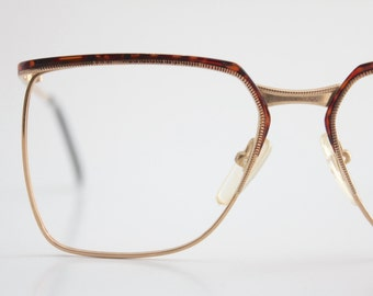 Vintage 70's Tortoise Wire Eyeglass Frames