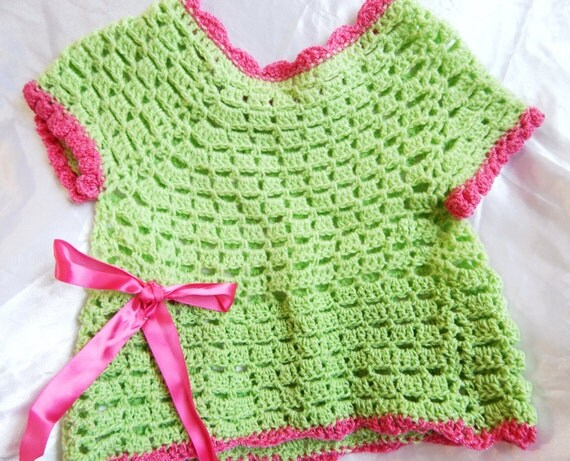 Etsy Crochet Blouse 2