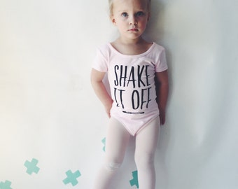 TODDLER LEOTARD - Shake it Off - Pink Girls Leotard