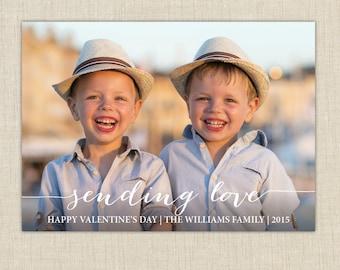 Sending Love. photo valentine cards