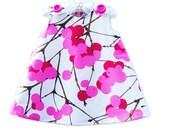 Marimekko Toddler Dress - Lumimarja Cotton Fabric - Girls Dress - Baby Dress  - Photo Prop -  1960' Style - Vintage - Newborn to 2T ONLY
