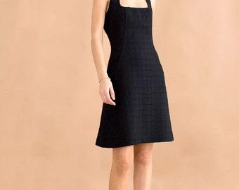 Princess little black dress // 90s // S/M size