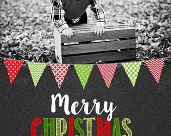 Christmas  Cards -chalkboard-any colors