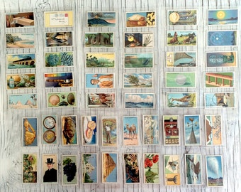 Do you know: Wills collectable cigarette cards, second series. Frame as wall art, for collage or just collect. Listing for 10 random cards.