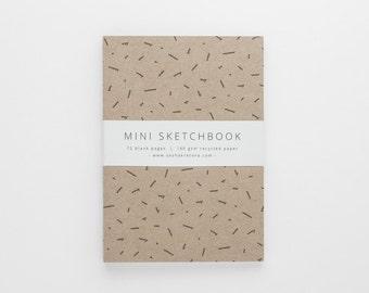 TERRAIN II mini sketchbook A6