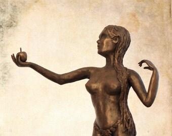 Adam and Eve | OOAK handmade artist dolls | Papier Mache sculpures