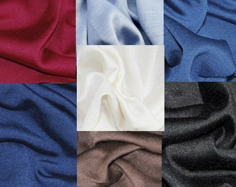 Jersey made of silk, very luxury material, silk jersey,
