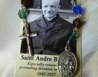 St. Andre Bessette,Rosary Chaplet Rosarie,Devotion to St. Joseph, Canada,starting small, small steps