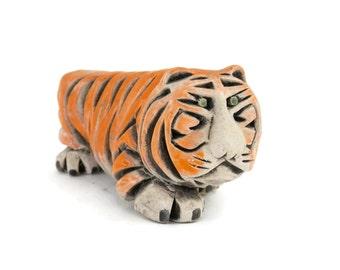 Artesania Rinconada Tiger by Jesus & Javier Carbajales Princeton University Mascot