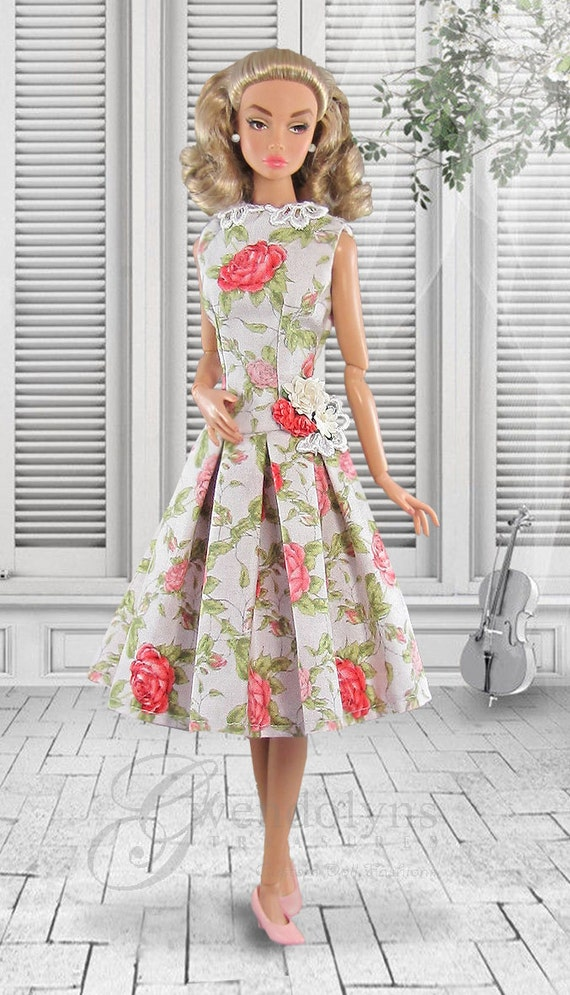 ENGLISH ROSE Garden Party Dress For Poppy Parker