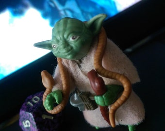 Star Wars: The Empire Strikes Back ~ Brown Snake Variant ~ Yoda, The Jedi Master Kenner Action Figure