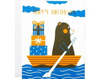 Bear Birthday Card