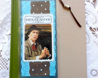 Vintage Clue Board Game Mrs Peacock Card Laminated Vinyl Bookmark