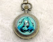 V1 Necklace Pocket watch Vocaloid Miku Hatsune 2525m