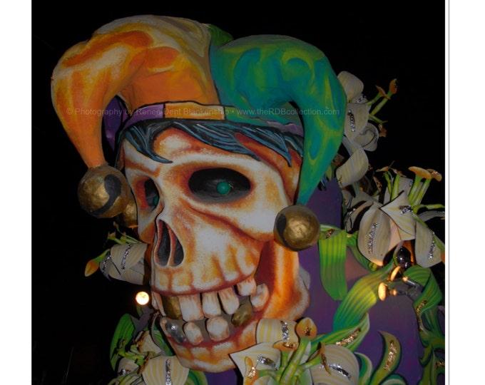 Jester Skull Photograph