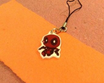 Deadpool Cellphone Charm/Keychain