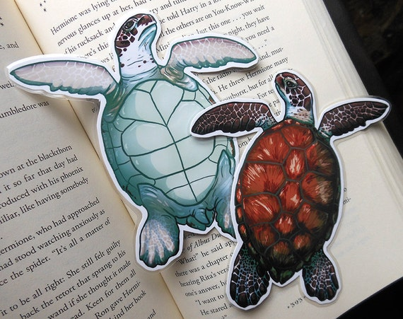 Sea Turtle Page Pet Bookmark