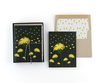 Dandelion Note Cards
