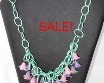 SALE! Bellflower necklace