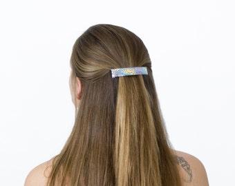 Metallic Hair Clip Holographic Sparkle Large Barrette