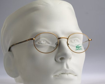 Lacoste Mod 745 / Vintage eyeglasses and sunglasses / NOS / Eyewear /  90s