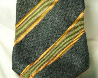 Valentino BOUTIQUE Cashmere & Silk Striped Tie