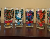 """1980's """"The Twelve Days of Christmas"""" Replacement Glasses"""