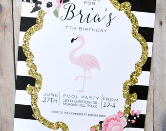 Flamingo Invitations