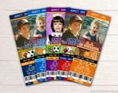Sports Birthday Party Invitation - Printable Sports Ticket Invite - Sports Themed Birthday Party - Sports Birthday Party Package - BP01
