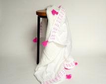 kantha baby quilt // muslin baby blanket // toddler bedding // toddler comforter