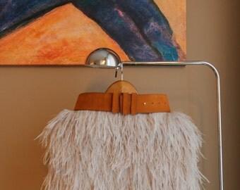 Feather skirt, Midi feather skirt, Mini feather skirt, Custom Made feather skirt, High Waisted Feather Skirt