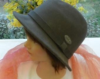 SALE! Vintage Fedora Hat - Men's, Kangol, Felt Wool - UNUSED - 1980's - Handsome!