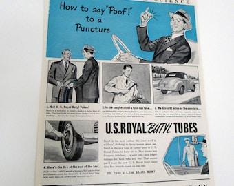 Vintage Tire Tube Ad