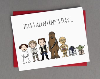 Star Wars Valentine - May The Force Be With You