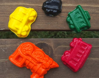 Train crayons set of 24 - party favors