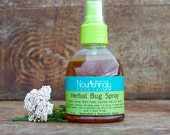 Natural Bug Spray, DEET free, herb infused bug repellent, kid safe bug spray, tick mosquito and horse fly bug spray, natural bug repellant