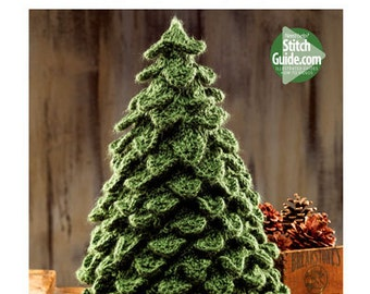 Crocodile Knit Christmas Tree Pattern Book