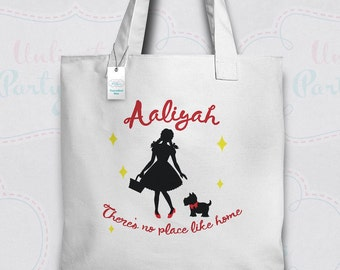 Wizard of Oz Tote Bag | Wizard of Oz Canvas Tote | Personalized Tote Bag | Wizard of Oz Totebag