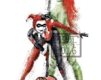 Harley and Ivy Print