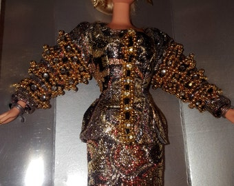 VT00001 & VT00002 1995 Designer Barbie Christian Dior Doll Christian Dior Purses Cosmetics Clothing-by God Oddities Decor on Etsy