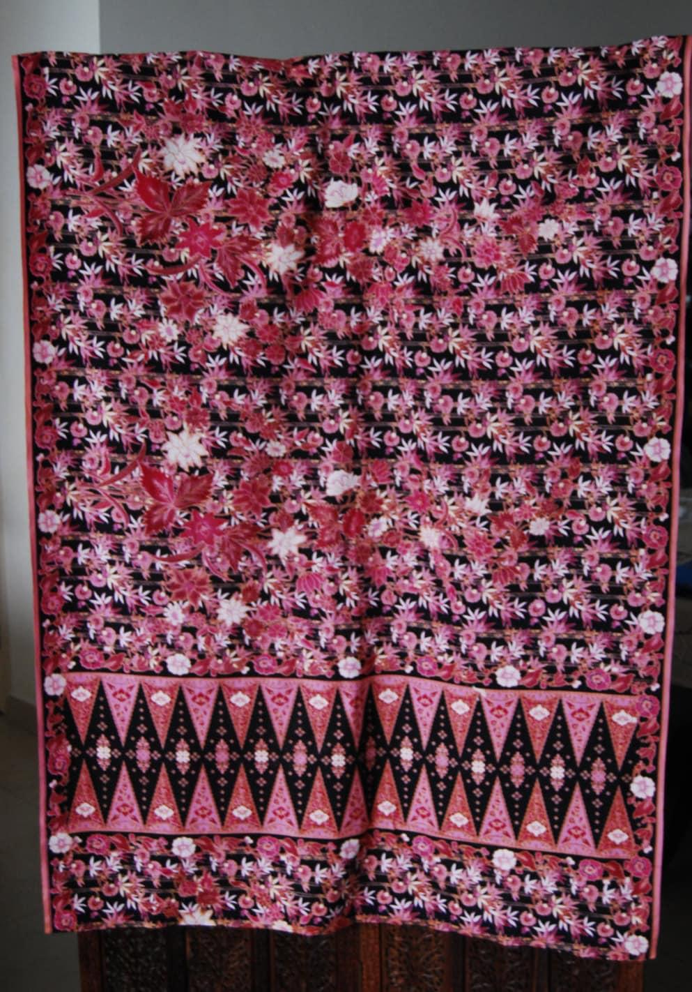 malaysian batik fabric from missiines on etsy studio