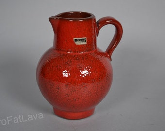 Pitcher  by Scheurich - West German Pottery vase 418-18