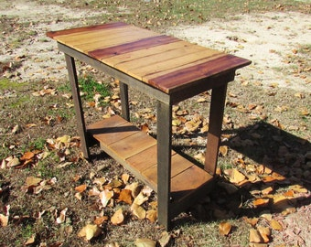 Rustic Sofa Table, Solid Wood Table, Rustic Furniture, Rustic Table, End Table, Media Table, TV Stand, Media Center, Entertainment Stand