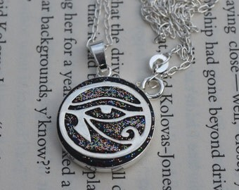 The Eye Of Horus pendant necklace sterling silver