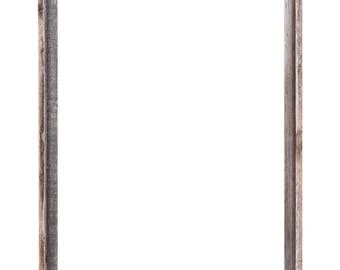 22x28 Picture Frames – Barnwood Reclaimed Wood Open Frame (No Plexiglass or Back)