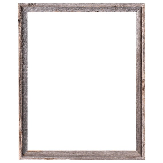 22x28 2 wide barnwood reclaimed wood open frame no glass or