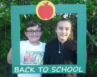 Photo Booth Frame/Photobooth/1st Day of School/Back to School/First Day of School/Photobooth Frame Prop/School Photobooth